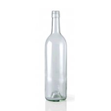 Botella Vidrio Transparente 750ml Jugos y Siropes