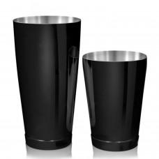 Coctelera Boston Luxury Tin y Mini 28/18oz Negro