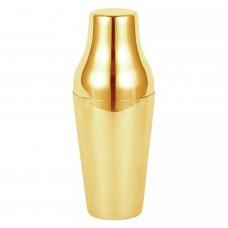 Coctelera Luxury Francesa 600ml 2 Piezas Dorada