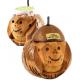 Soporte Para Vasos Coco Natural En Forma De Mico