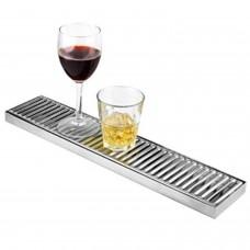 Bar Mat Acero Inox 49x10cms