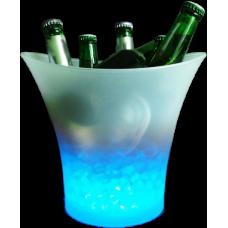 Hielera LED Plástica