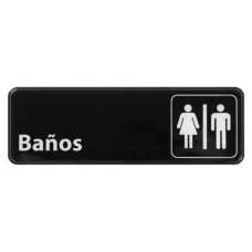 Señalización Bar: Baños