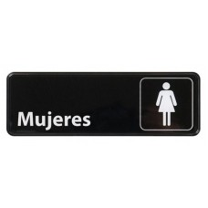 Señalización Bar: Mujeres