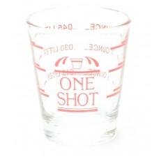 Jigger Vidrio Shot 4 Medidas