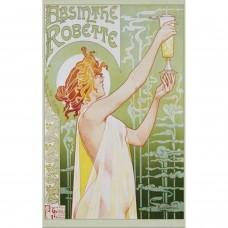 Afiche Absenta Robette