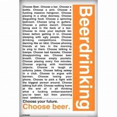 Afiche Cerveza Beerdrinking
