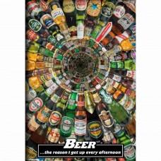 Afiche Cerveza La Razón...