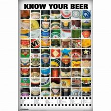 Afiche Cerveza Marcas Famosas