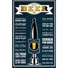 Afiche Cerveza Por Favor